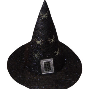 Tinsel Witches Hat Assorted 2Pcs
