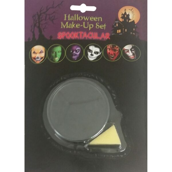Black Base Makeup for Halloween Costumes scary clown Fancy Dress up
