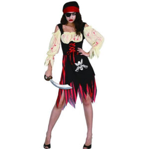 Zombie Pirate Girl Costume