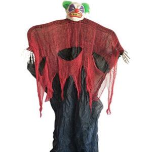BO Hanging Clown With Light Sound 210cm