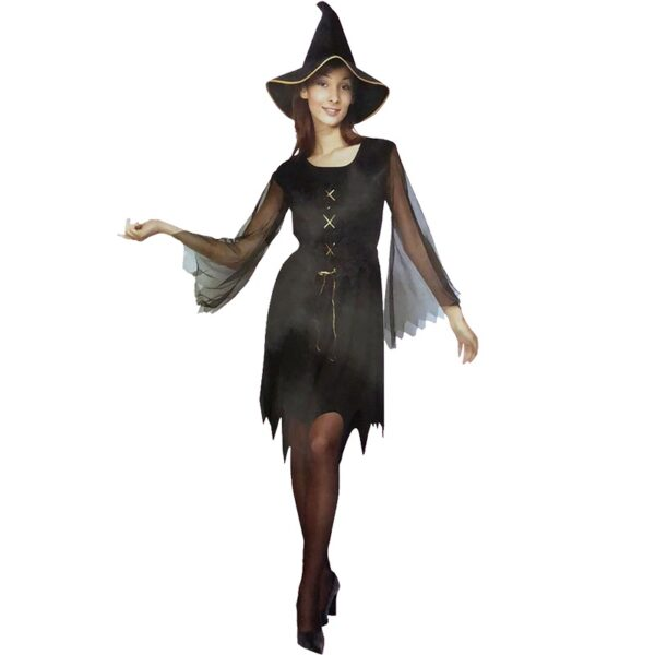 Halloween Gypsy Witch Costume for women