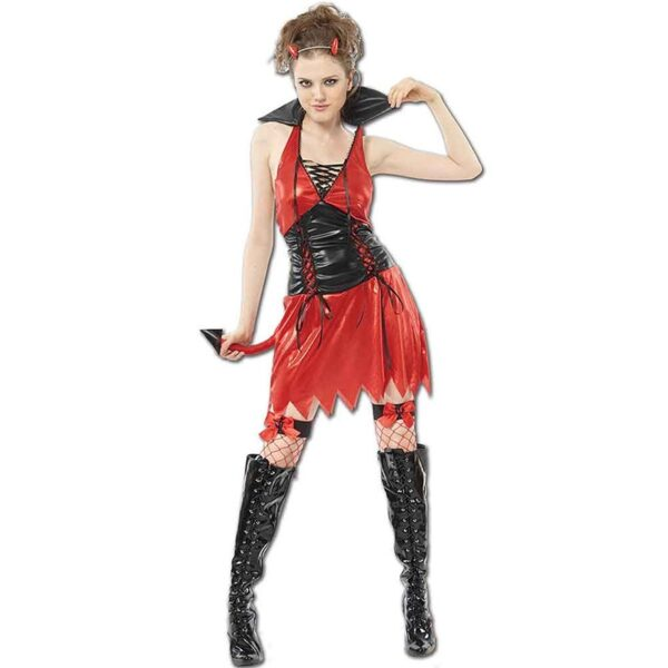 Hen Night Hot Devil Costume for Halloween