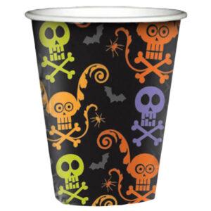 Spooky Paper Cups 8pcs