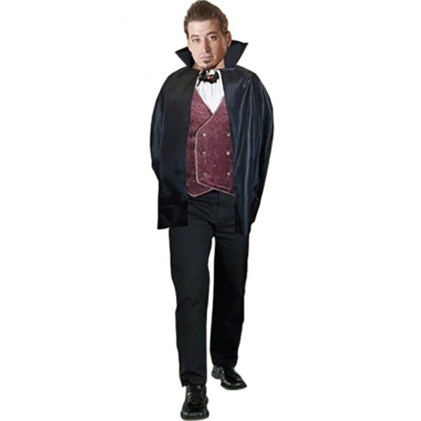 Halloween Carded Cape Costume - Black