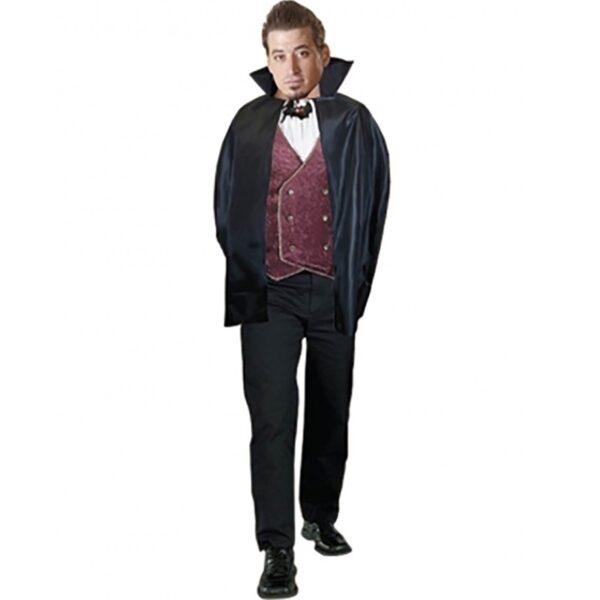 Halloween Carded Cape Costume - Black