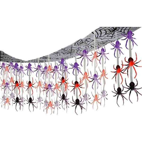 Happy Halloween Spider Ceiling