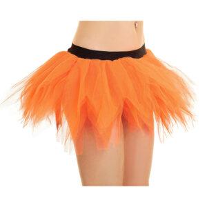 6 Layer Orange Petal Pumpkin TuTu Skirt