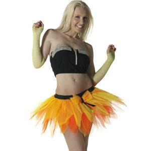 6 Layer Orange/Yellow Petal TuTu Skirt