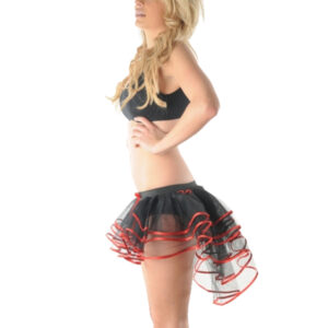 3 Layers Burlesque Black/Red...