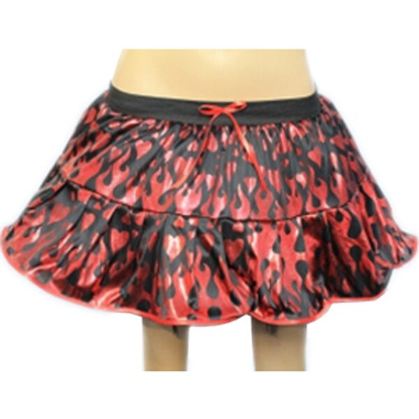 2 layers devil tutu skirt for halloween