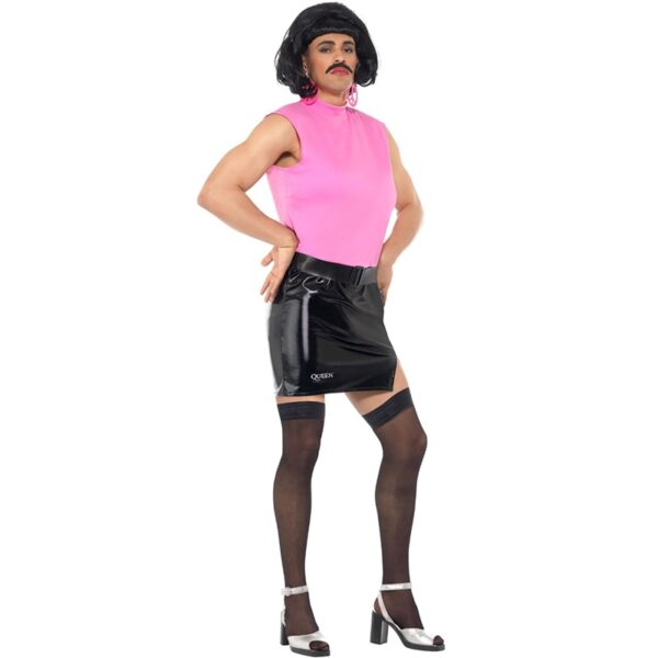 Queen Freddie Break Free Housewife Costume for adults hen night fancy dress party