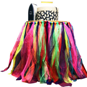 Rainbow Table TuTu Skirt