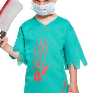 Children Bloody Doctor Costume