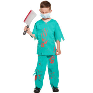 Children Bloody Doctor Costume
