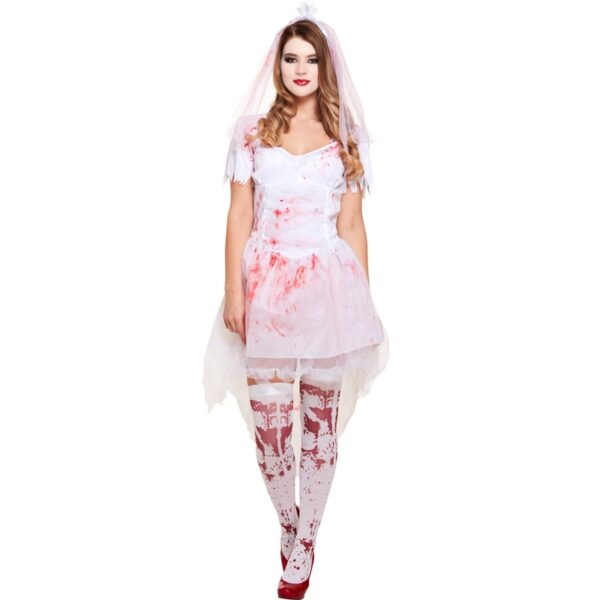 Bloody Bride Costume for Halloween