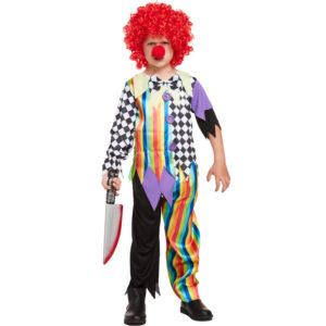 Children Clown Costume