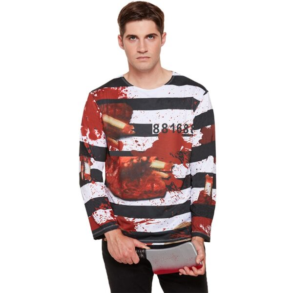 Zombie Prisoner Shirt for men