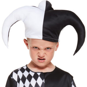 Children Jester Evil Costume