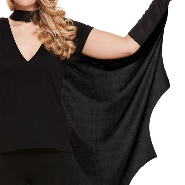 Halloween Bat Cape For Women
