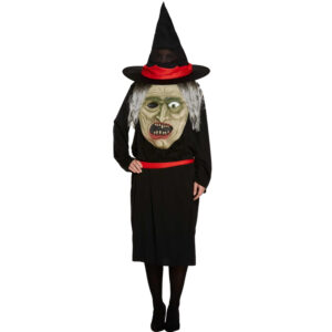 Jumbo Witch Face Costume