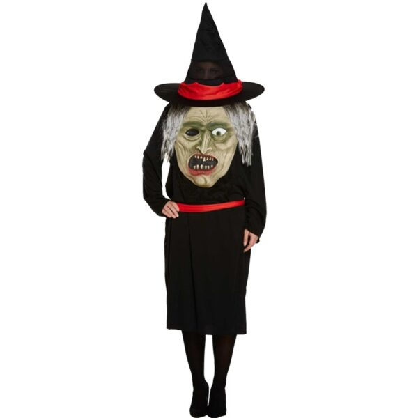 Jumbo Witch Face Costume for Halloween