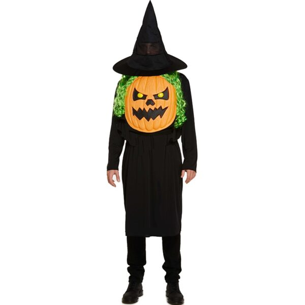 Halloween Jumbo Pumpkin Face Costume for men