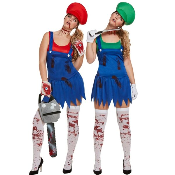 Halloween Super Mario Costume for Women