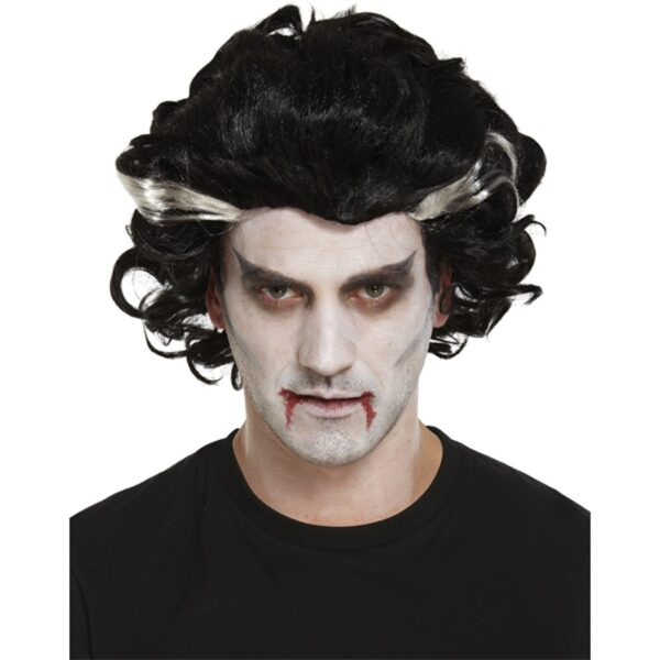 Male Vampire Wig for Halloween costumes dress up