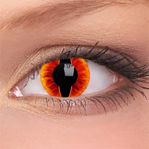 Contact Lenses for Lords of the Rings Halloween Sauron costumes
