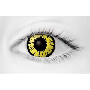 Explosion Yellow Contact Lenses