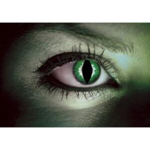 Green Lizard Contact Lenses