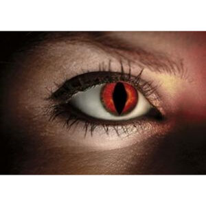 Red Lizard Contact Lenses