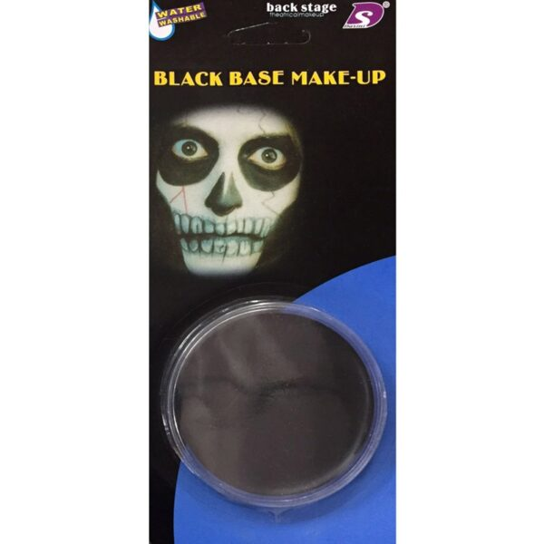 Black Face Body Paint for Halloween costumes Skelton Devil Base makeup dress up