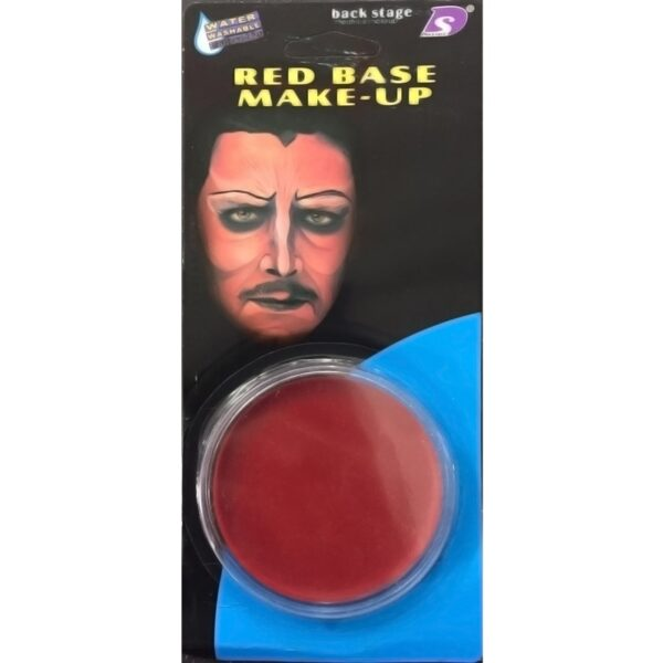 Red Face Body Paint for Halloween costumes Devil Vampire Base makeup dress up