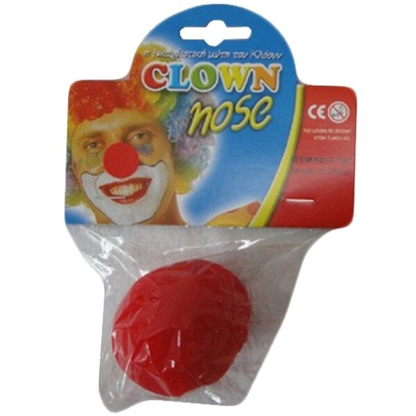 Red Clown Nose for Halloween Party Scary Joker Pennywise costumes fancy dress up