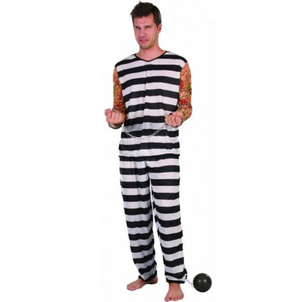 Halloween Jail Bird Costume for men
