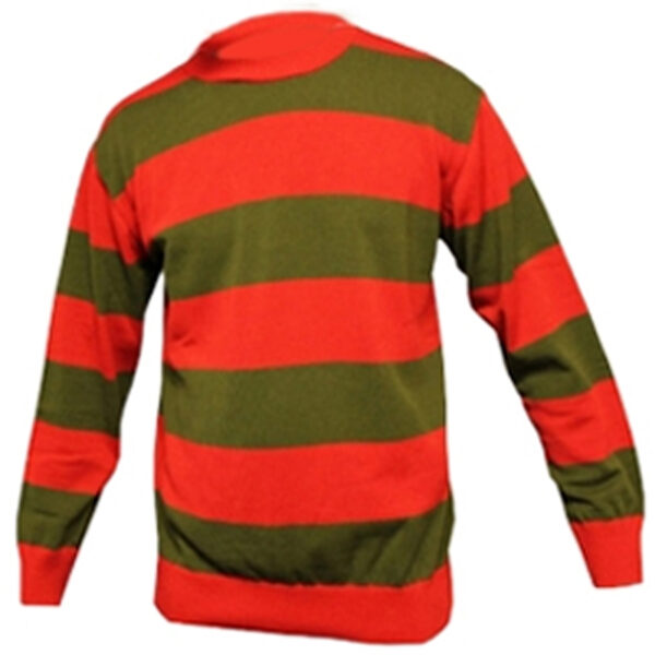 Children Red and Green Jumper Top for Halloween Costumes Freddy Krueger Dress up