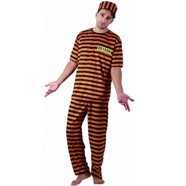 Naughty Prisoner Costume for men