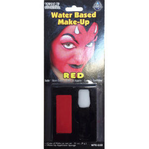 Red Water Based Makeup