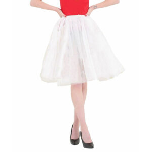 Women 3 Layer Long Tutu Skirt