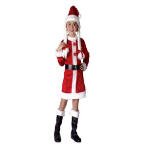 Santa Helper Girls Costume