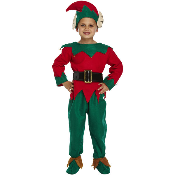 Child ELF Dress Up 5Pcs