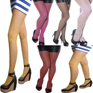 Ladies Fishnet High Tights