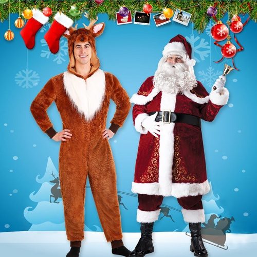 Merry Christmas Costumes for Men
