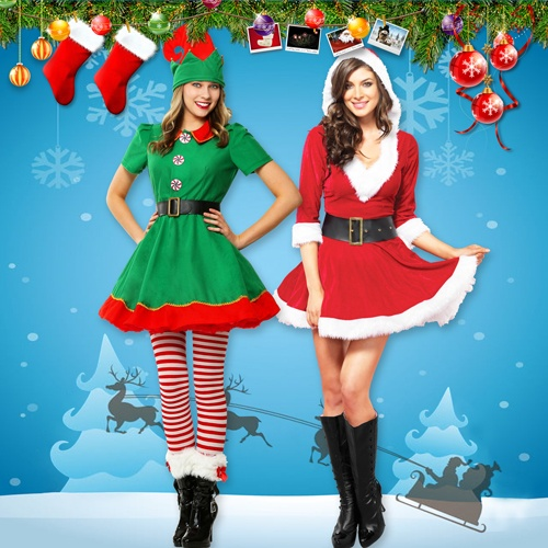 Merry Christmas Costumes for Women