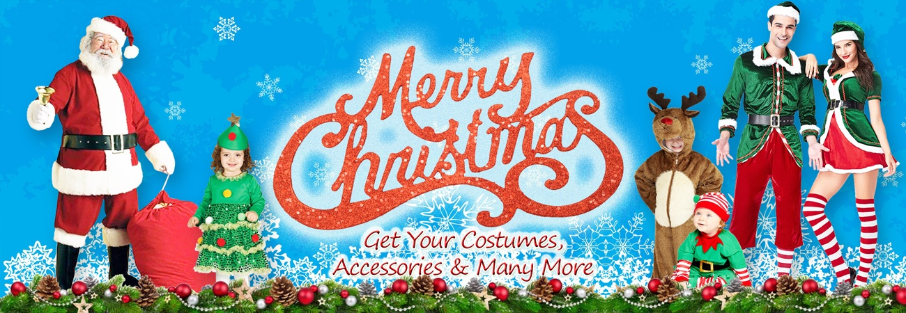 Christmas Party Supplies; Costumes, Toys and Accessories