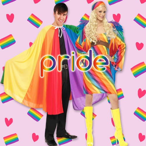 Gay Pride Party Supplies - LGBT Parade Birthday Party Ideas, Costumes, Decorations and More
