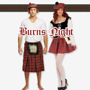 Burns Night Party Supplies - Scottish Birthday Party Ideas, Costumes, Decorations and More