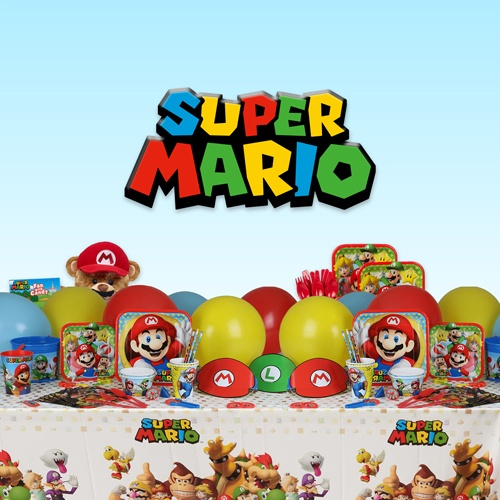 Mario Brothers Party Supplies - Super Mario Birthday Party Ideas, Costumes, Decorations and More