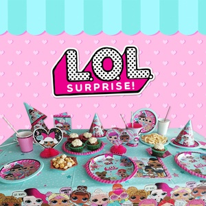 L.O.L Surprise Party Supplies - LOL Birthday Party Ideas, Costumes, Decorations and More